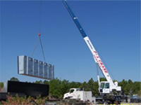 New discounted pricing for Tampa crane Services by P&L Crane.